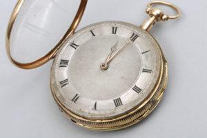 Repetitions-Taschenuhr,750 Gold, Breguet & Fils, um 1800, D 5,5cm, Zuschlag: 1000,-€